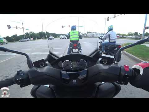 Ride and Review of the Suzuki Burgman 400