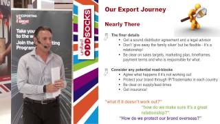 UKTI - United Oddsocks Case Study: Journey from the UK to overseas markets
