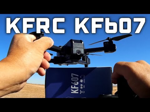 Фото KF607 Optical Flow Foldable WIFI FPV Quadcopter RTF