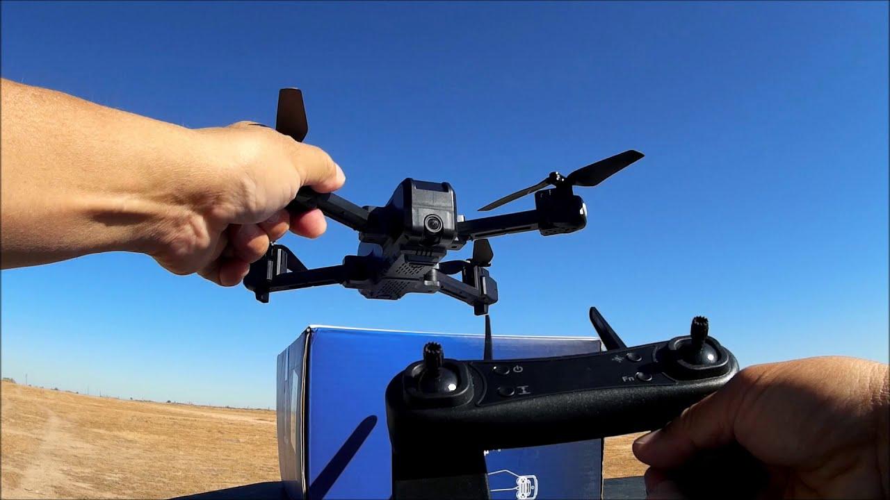 KF607 Optical Flow Foldable WIFI FPV Quadcopter RTF фото