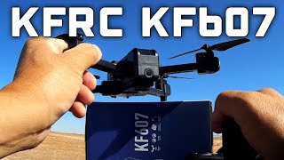 KF607 Optical Flow Foldable WIFI FPV Quadcopter RTF