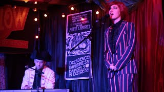 Kat Robichaud- Song for David Bowie , filmed live at Kat Robichaud s Misfit Cabaret 1/29/16