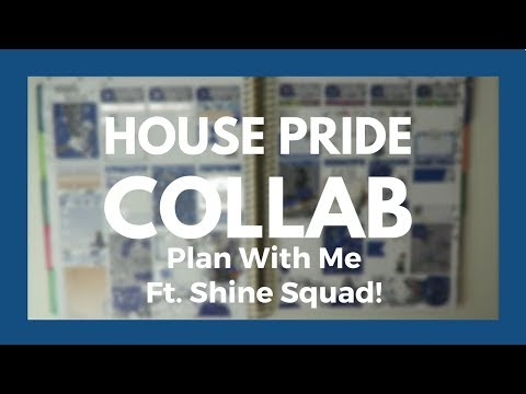 HOUSE PRIDE COLLAB Plan With Me - Ravenclaw!