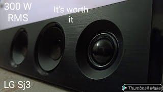 lg sound bar sj3 unboxing & review (malayalam)2020