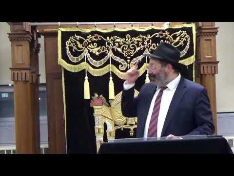 Rabbi YY Jacobson speaking at Fasman Yeshiva High School