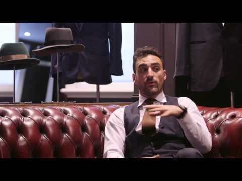 Corporate Video - Louis Ialenti from The Cloakroom