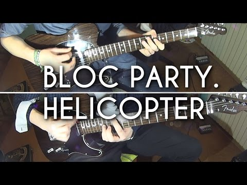 Bloc Party - Helicopter | HQ Guitar Cover by DMNRMusic