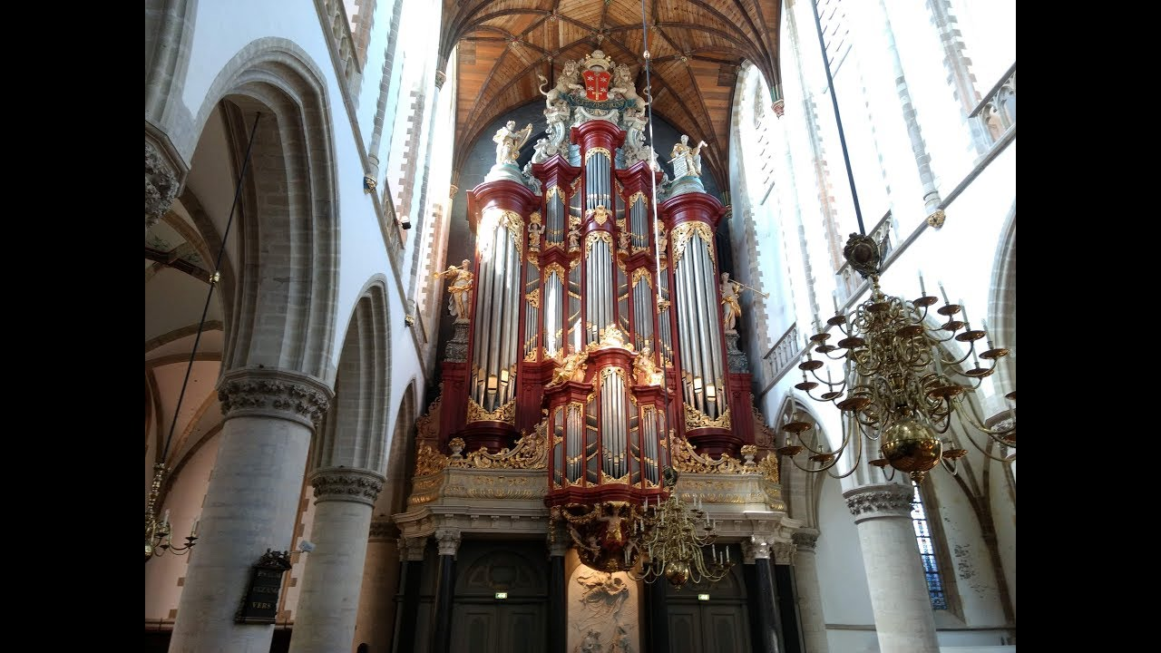 Excerpts from my Final Bachelor Exam at St.Bavokerk (Haarlem, The Netherlands)