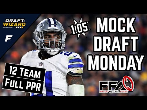 Fantasy Football Mock Draft - 2020 Fantasy Football Advice | 12 Team | PPR | 5th Pick