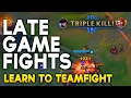 Learn to Teamfight : WINNING LATE GAME fights as an ADC (League of Legends)