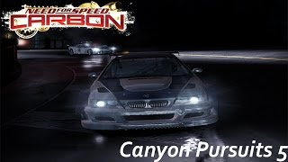 Canyon Pursuits 5 | Need for Speed Carbon Gameplay