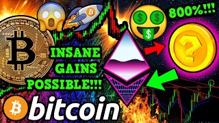 BITCOIN BREAKOUT!!? ETHEREUM ON FIRE!! HOW to EARN PASSIVE $ETH EASY!!! 800%!!