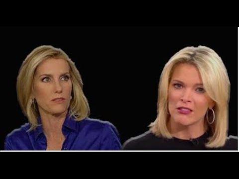 ALL HELL BREAKS LOOSE ON FOX NEWS LAURA INGRAHAM EVISERATES MEGYN KELLY ON AIR!