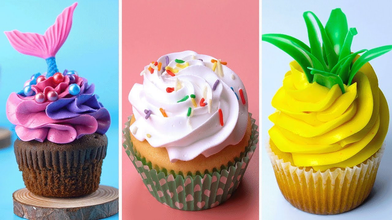 Amazing Cupcake Decorating Ideas Compilation For Party  Perfect Cake  Tutorials  Tasty Plus Cake