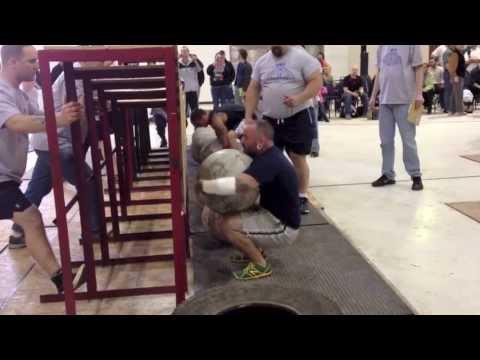 Seth Carbonneau • Maine StrongMan 6 • Event 5: Atlas Stone Series