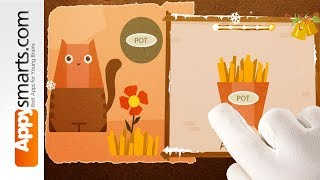 Playing Chigiri Paper Collage Puzzle Game [school kids and up, iPad, iPhone, Android]
