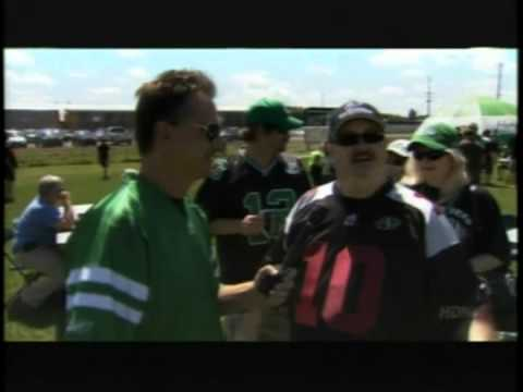 Art Man @ Saskatchewan Rough Riders Game  Part1