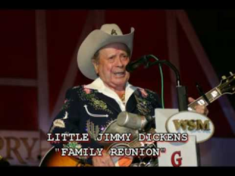 """LITTLE JIMMY DICKENS - """"FAMILY REUNION"""""""