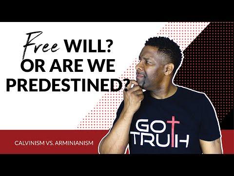 Calvinism vs. Arminianism - Does God Choose Us or Do We Choose God?