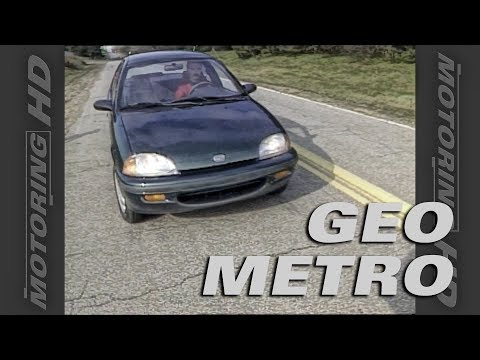 1996 Geo Metro - Throwback Thursday