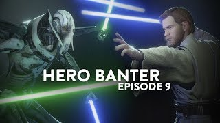 ◀STAR WARS BATTLEFRONT 2 - Hero Banter Ep. 9 (Obi-Wan vs. General Grievous)