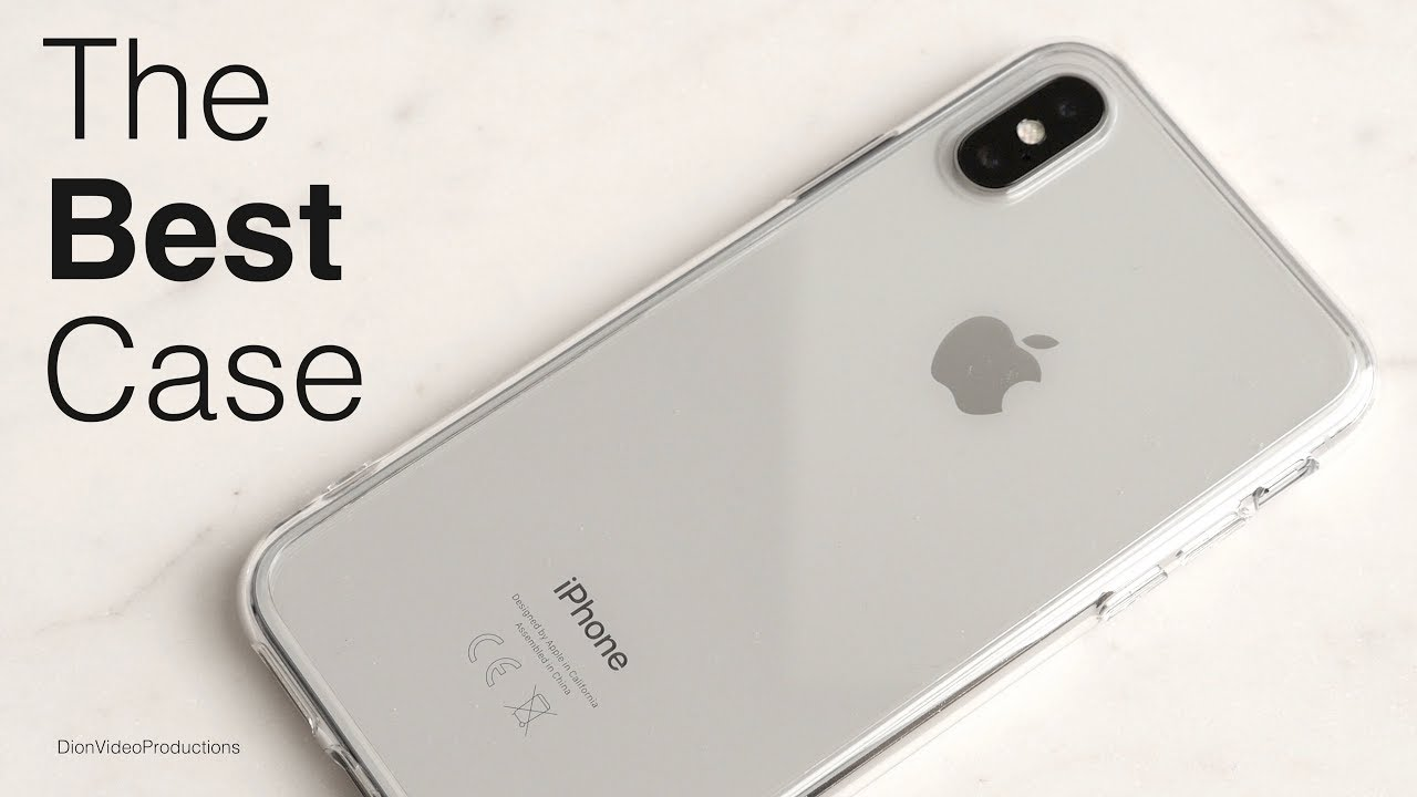 aa34c9dcda The BEST Clear Case for iPhone X! - YouTube