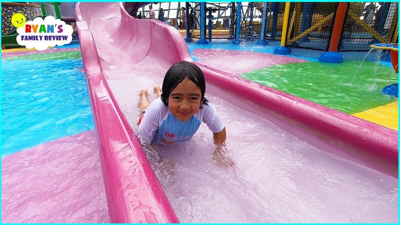 Download Water Parks for Kids and Splash Pads with Ryan's Family Review!