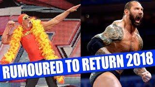 10 Wrestlers Rumoured to Return To WWE in 2018