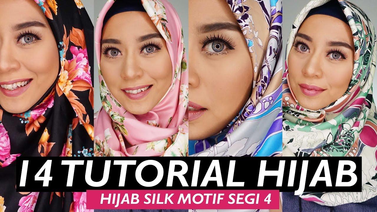 80 Ide Tutorial Hijab Segi Empat Inivindy 2017 Tutorial Hijab