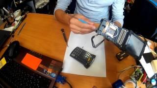 видео Терминал сбора данных Motorola Symbol MC9090