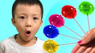 Learn Colors for Kids With Candy | The Surprise for Kids
