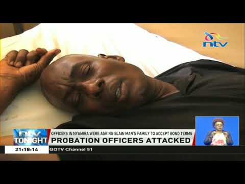 Probation officers attacked in Nyamira county