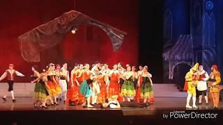 Балет Дон Кихот. Избранные моменты. Ереванский театр оперы и балета www.sobesednikam.ru