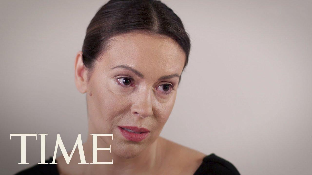 Alyssa Milano No Makeup Emo Makeup