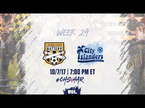 USL LIVE - Charleston Battery vs Harrisburg City Islanders 10/7/17