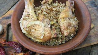 Лучший рецепт гречки с курицей в духовке | Как вкусно и быстро приготовить гречку