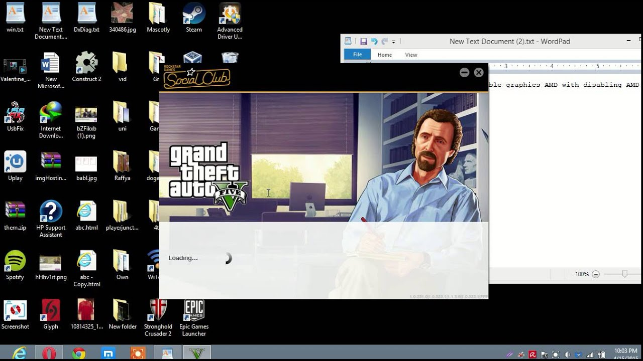 How To Run GTA 5 On Switchable Graphics (temporary crappy graphics Fix)