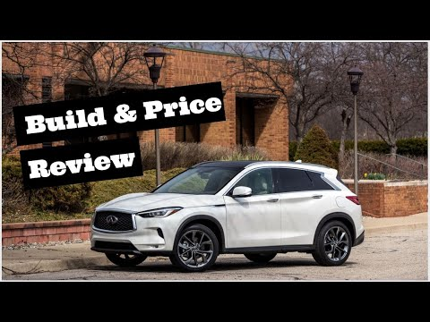 2020 Infiniti QX50 Autograph AWD - Crossover SUV - Build & Price Review: Colors, Interior, Trims