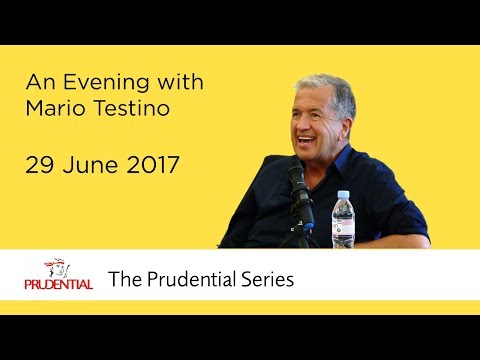 An Evening with Mario Testino