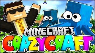 THE BEST MODPACK - CRAZY SQUIDS ARE BACK!! | Minecraft's Oldest Mod Pack - Crazy Craft Survival #1