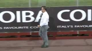 Arezzo-Prato, Mancini in tribuna e Capuano sotto la curva