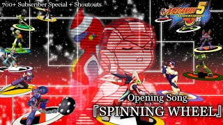Megaman Battle Network 5 Double Team DS Opening: Spinning Wheel [700 Subscriber Special]