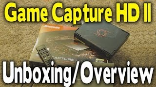 Avermedia Game Capture HD II Unboxing & Overview (Best PC Free Device)