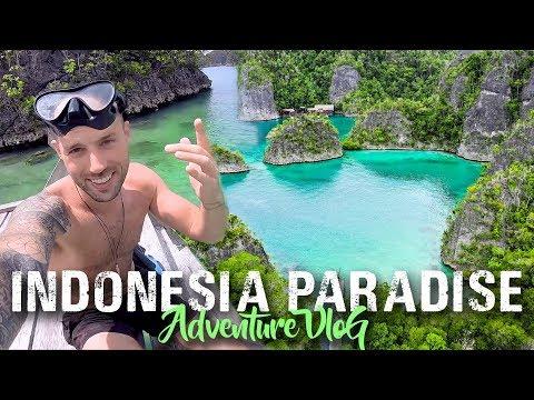 PIAYNEMO Island Hopping   RAJA AMPAT   travel Indonesia vlog
