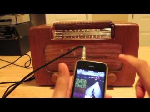 Turn an Old Radio Into an MP3 Player | The Art of Manliness