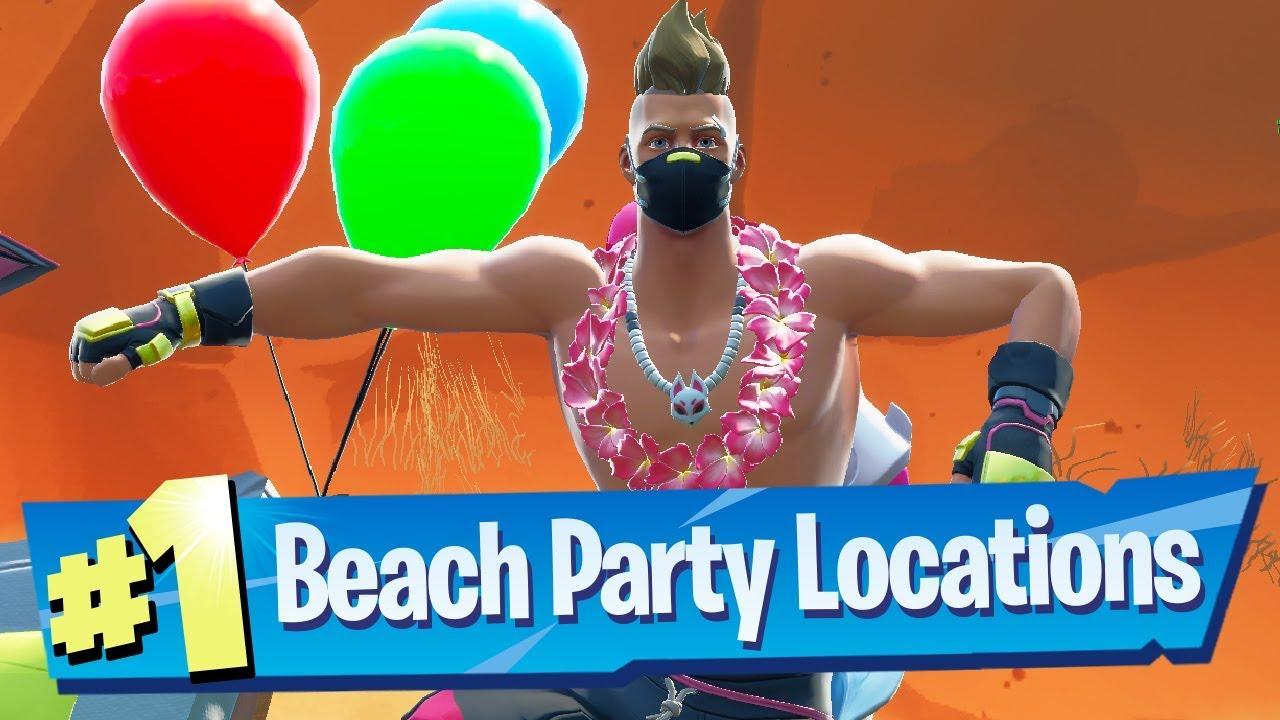 Fortnite 14 Days Of Summer Challenge Locations - Dance At ...