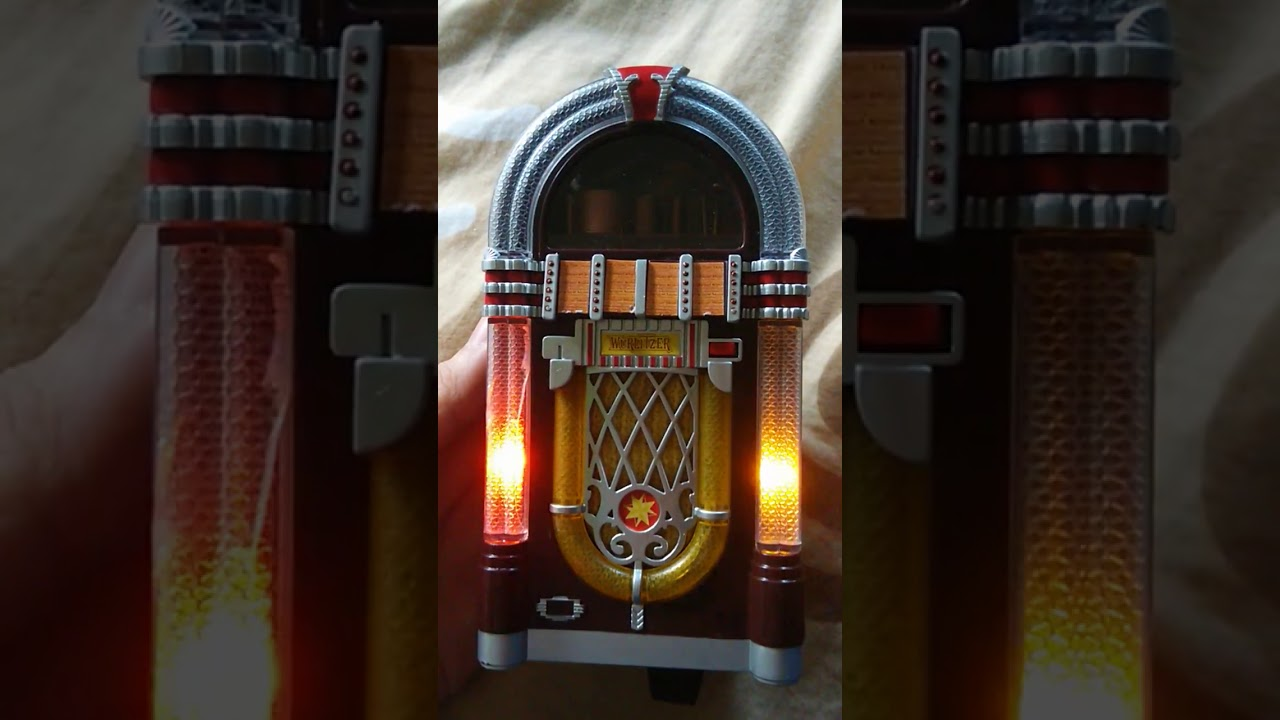 wurlitzer miniature jukebox replica youtube. Black Bedroom Furniture Sets. Home Design Ideas