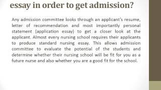 college readmission essay Graduate entrance essay nursing logo