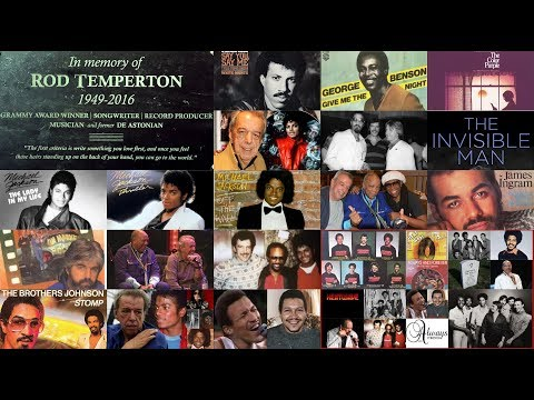 """The Invisible Music Man's Journey """"Rod Temperton"""""""