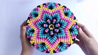 Tas Motif Bintang, pakai tas ini pasti keren #tastalikurbulat #circlebag #talikur